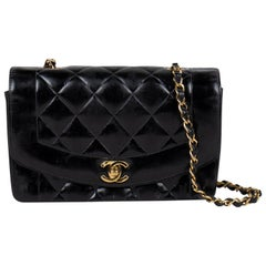 Chanel Small Patent Diana Flap Bag