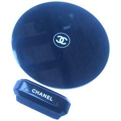 Chanel Small Round Vanity Mirror circa 21st c