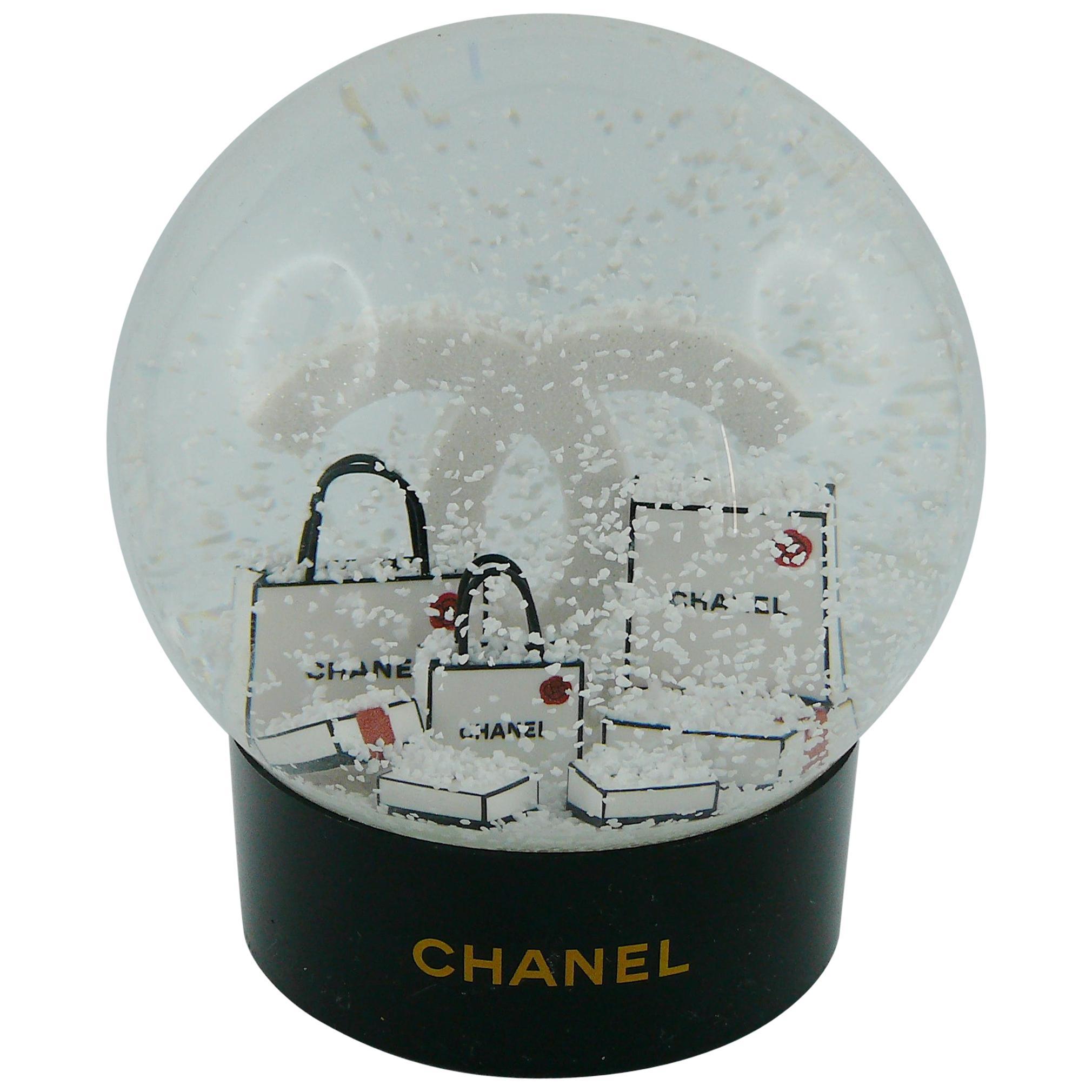 Chanel Snow Dome