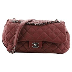 Chanel Soft Accordion Flap Bag Quilted Lambskin Medium