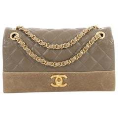 Chanel Soft Elegance Flap Bag Quilted Distressed Calfskin Medium