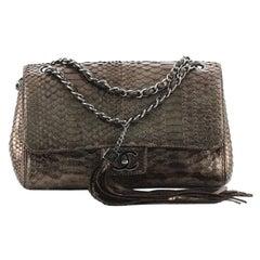Chanel Soho Tassel Flap Bag Python Medium