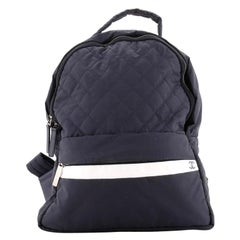 Chanel Sport Line Backpack Quilted Nylon Medium