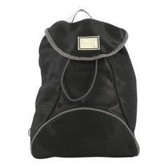 Chanel Sport Line Flap Backpack Nylon Medium