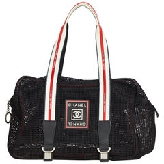 Chanel Sport Line Mesh Shoulder Bag