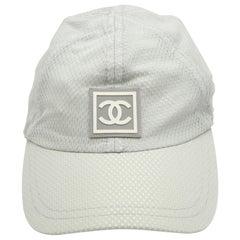 Chanel Sport Rare Gray Cap with CC Logo