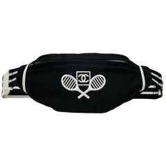 Chanel 80's Sport Tennis Fanny Pack