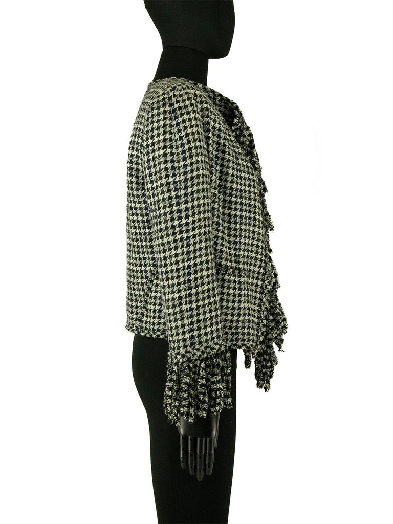 Chanel Spring 2007 Dogtooth Jacket For Sale 1