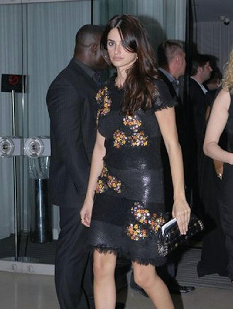 Amazing clutch from Chanel 2007 Runway.  Has been seen on many celebs including Penelope Cruz and Victoria Beckham. Chanel has come out with several similar pieces this past year however this classic timeless clutch style is still a favorite of many