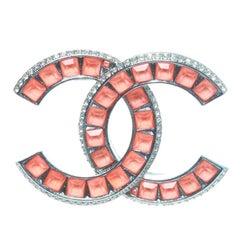 Chanel Spring 2017 CC Swarovski Brooch