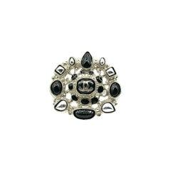 Chanel Statement Monochrome Logo Ring 2012
