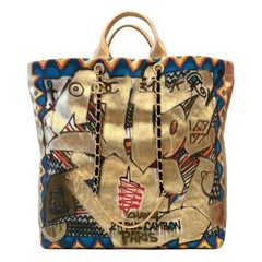 Chanel Street Spirit Graffiti Maxi Shopping Tote