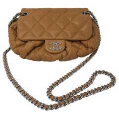 Chanel Tan Chain Around Bag