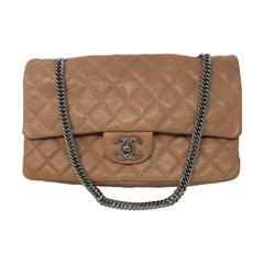 Chanel Tan Flap Bag