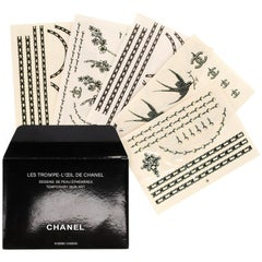 Chanel Temporary Tattoos Set, 2010s