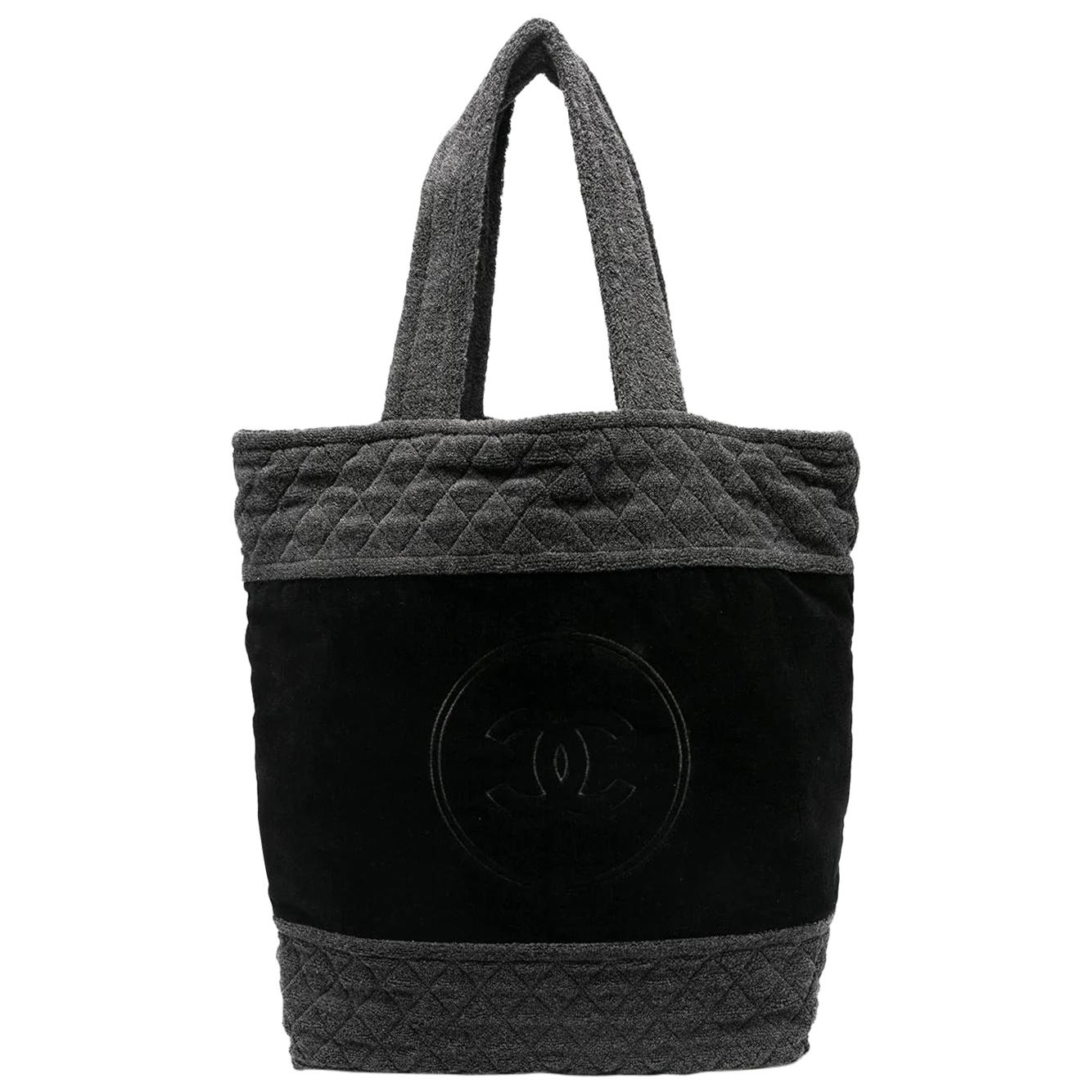 Chanel Terry Cloth Tote