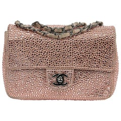 Chanel Limited Edition Timeless Bag In Pink Velvet Calf Leather