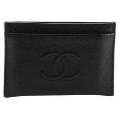 Chanel Timeless Card Holder Caviar