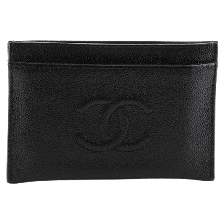 Chanel Timeless Card Holder Caviar For Sale