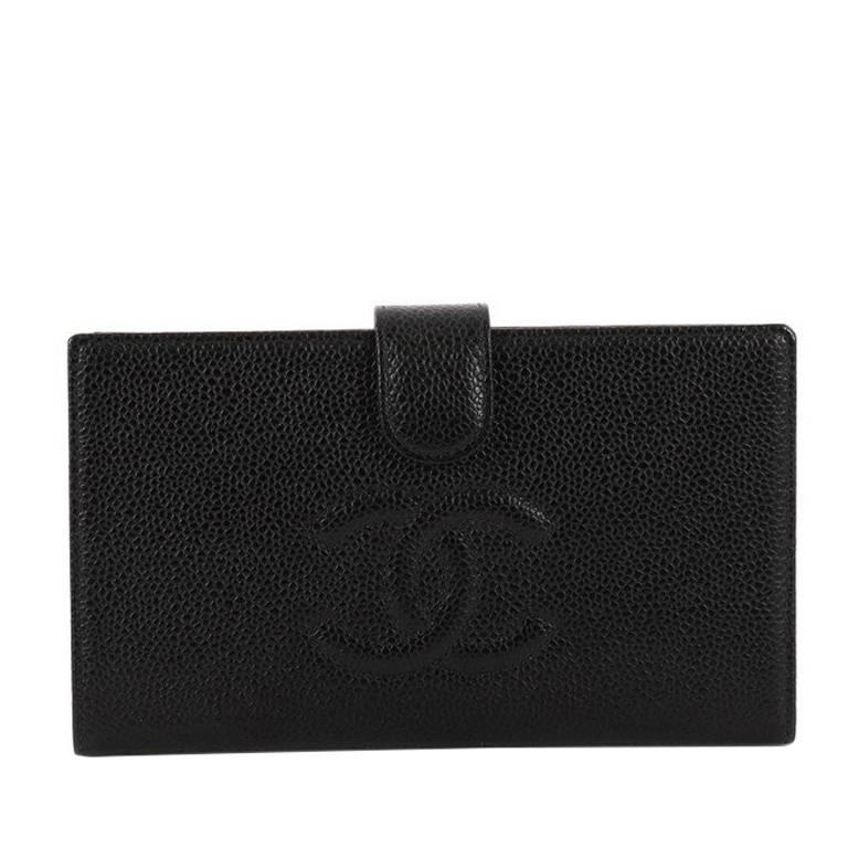 85b526be07eb Chanel Timeless CC French Wallet Caviar Long at 1stdibs