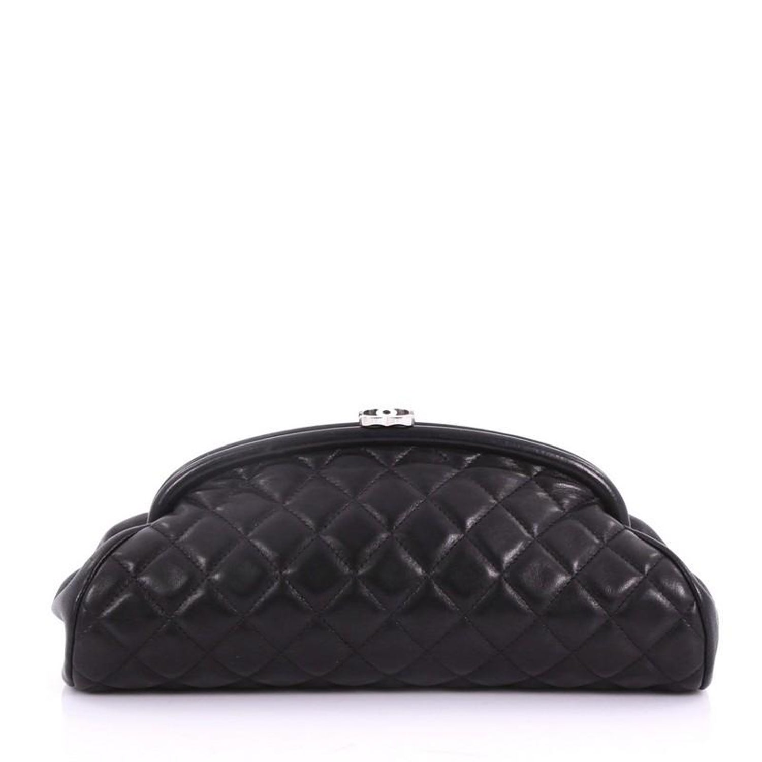 ed5cb0a75535 Chanel Timeless Clutch Quilted Lambskin at 1stdibs