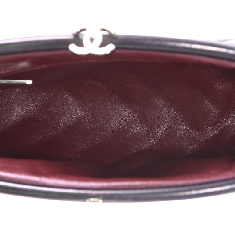 Chanel Timeless Clutch Quilted Lambskin For Sale 1