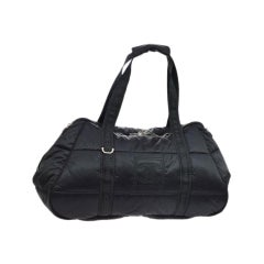 Chanel Timeless Coco Niege Sports Gym Rare Travel Tote