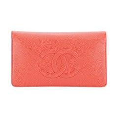 Chanel Timeless L-Yen Wallet Caviar Long