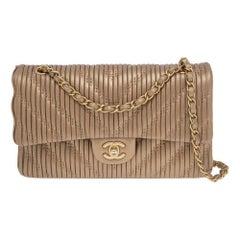 Chanel Timeless metallic shoulder bag