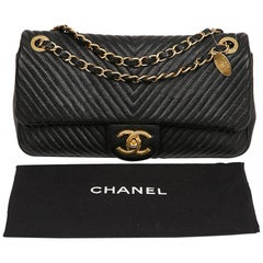 Chanel Timeless Quilted Black Bag