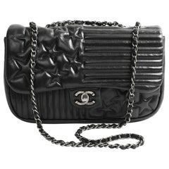 Chanel Timeless Quilted Black Paris-Dallas Bag