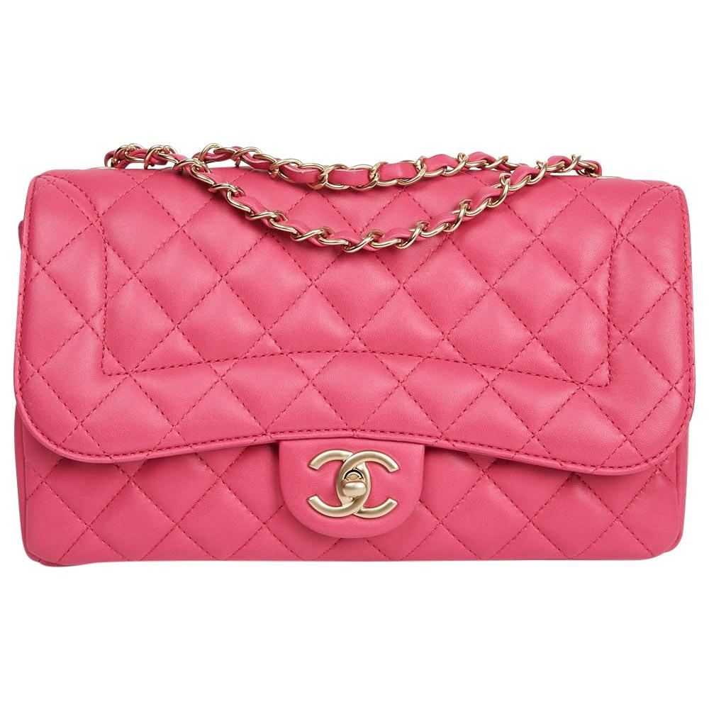 Chanel Timeless Quilted Pink Bag
