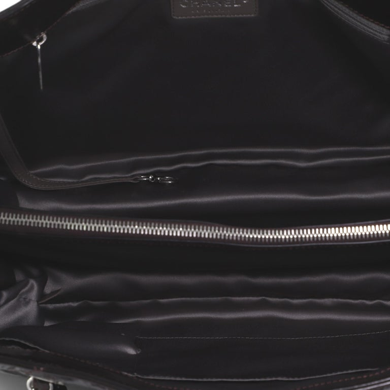 Chanel Timeless Shopping Tote Quilted Glazed Calfskin Large For Sale 1