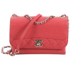 Chanel Tramezzo Flap Bag Calfskin Small