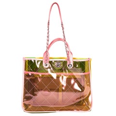 Chanel Transparent Coco Colorful Bag