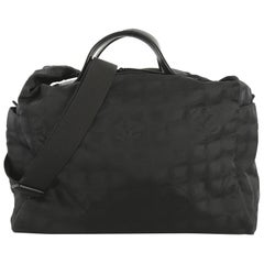 Chanel Travel Line Duffle Bag Nylon Medium
