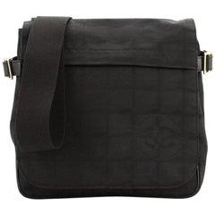 Chanel Travel Line Messenger Bag Nylon Mini