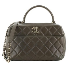 Chanel Trendy CC Bowling Bag Quilted Lambskin Medium