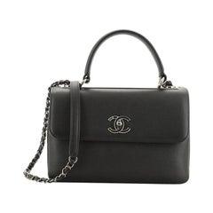 Chanel Trendy CC Top Handle Bag Calfskin Small