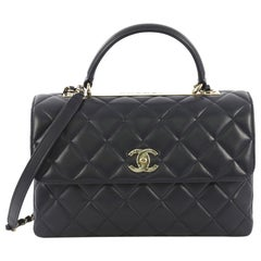 bc6b2859651a Vintage Chanel Top Handle Bags - 367 For Sale at 1stdibs