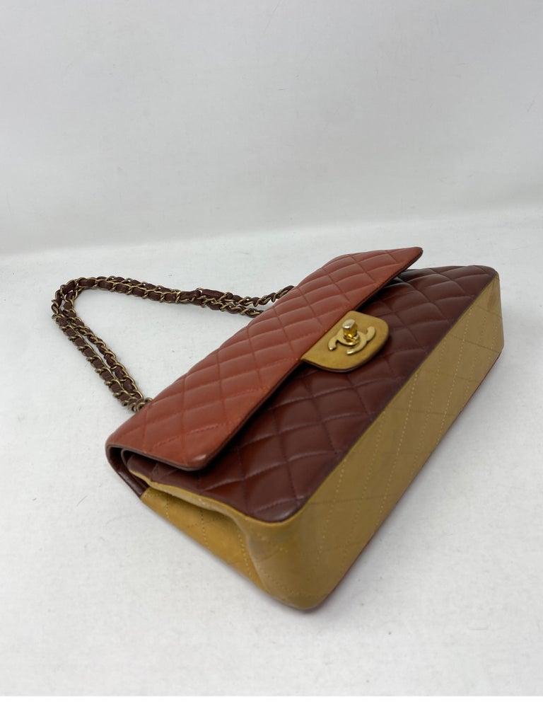 Chanel Tri-color Medium Bag For Sale 5
