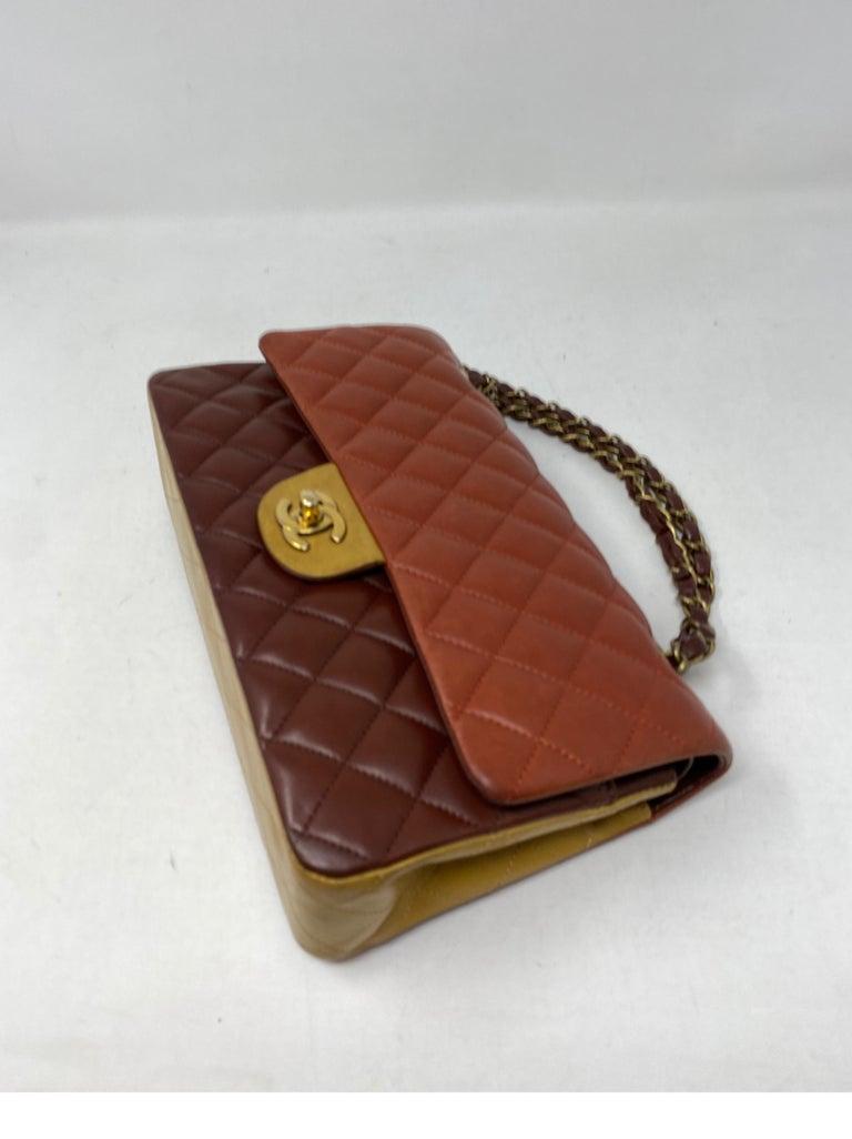 Chanel Tri-color Medium Bag For Sale 7