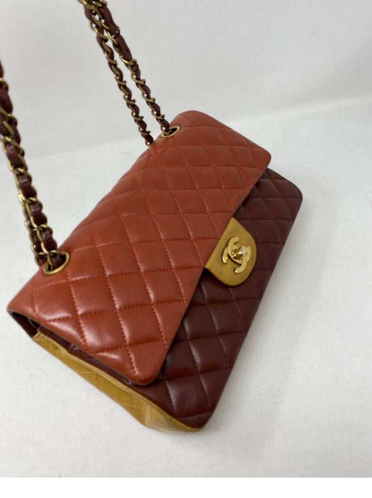 Chanel Tri-color Medium Bag In Excellent Condition For Sale In Athens, GA