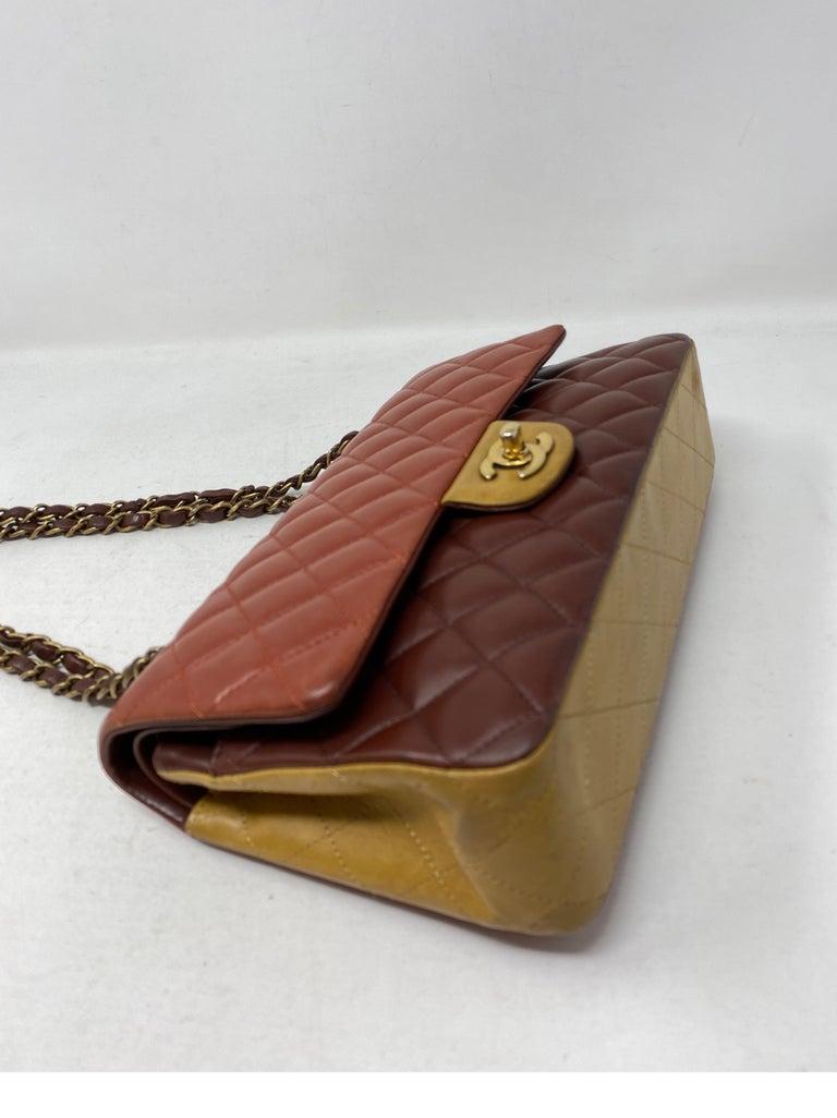 Chanel Tri-color Medium Bag For Sale 4