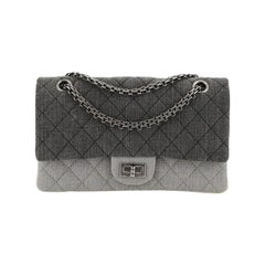 Chanel Tricolor Reissue 2.55 Flap Bag Quilted Denim 225