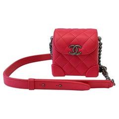 Chanel Trunk-Like Mini Shoulder Bag