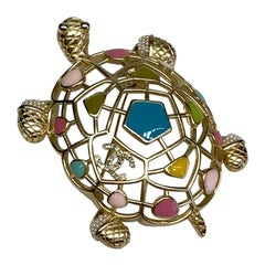 Chanel Turtle Brooch, 2019 Cruise Collection