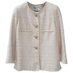 CHANEL Tweed 2010 Blazer Jacket