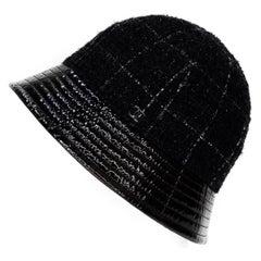 Chanel Tweed Bucket Hat