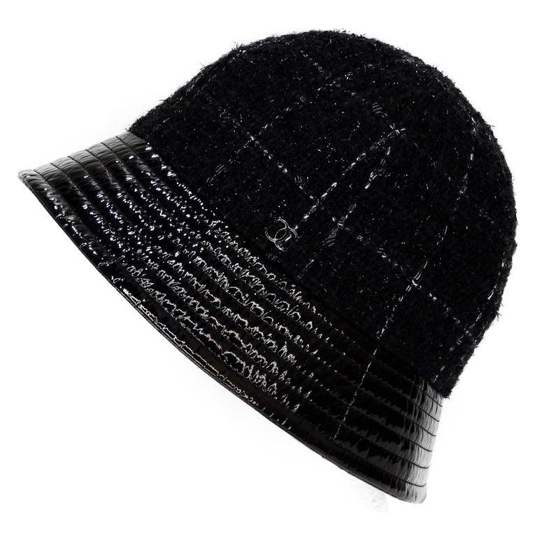 Chanel Tweed Bucket Hat For Sale